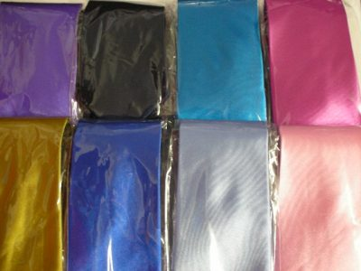 TIE SATIN ONE COLOUR