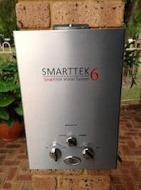 SMART TEK 6 HOT WATER SYSTEM
