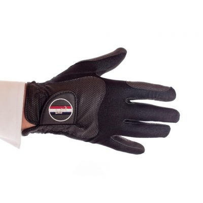 KINGSLAND CLASSIC BLACK RIDING GLOVES
