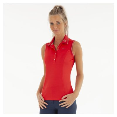 ANKY SLEEVELESS POLO