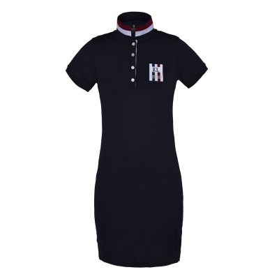KINGSLAND tec polo dress